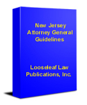 New Jersey Attorney General Guidelines