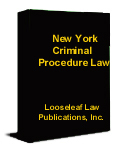 New York Criminal Procedure Law