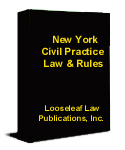 New York Civil Practice Law and Rules