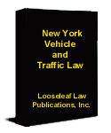 New York Vehicle and Traffic Law